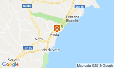 Mappa Avola Villa  54190