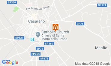 Mappa Casarano Villa  116326