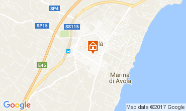 Mappa Avola Appartamento 103583
