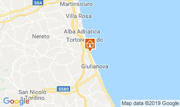Mappa Giulianova Appartamento 71115