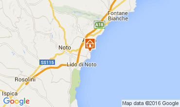 Mappa Noto Villa  104955