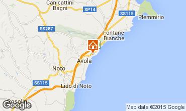 Mappa Avola Villa  23625