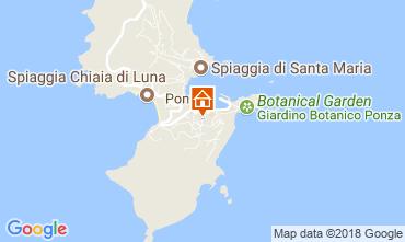 Mappa Ponza Villa  113425