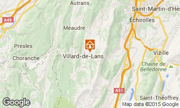 Mappa Villard de Lans - Corrençon en Vercors Chalet 3640