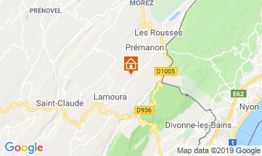 Mappa Les Rousses Chalet 89314