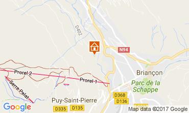 Mappa Serre Chevalier Casa 90691