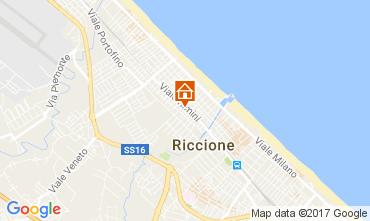 Mappa Riccione Casa 109591