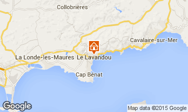 Mappa Le Lavandou Villa  89455