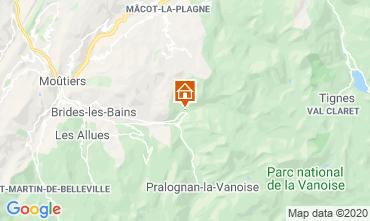 Mappa La Plagne Appartamento 102107