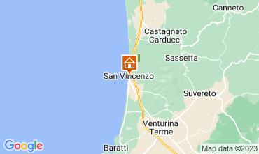 Mappa San Vincenzo Appartamento 104398