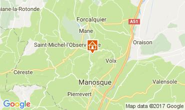 Mappa Forcalquier Casa 108507