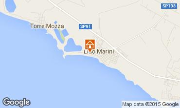 Mappa Lido Marini Appartamento 35867