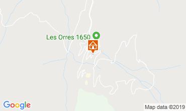 Mappa Les Orres Monolocale 101432