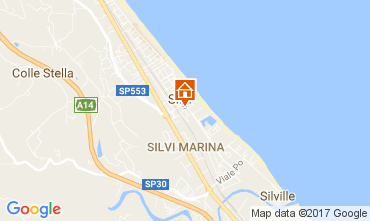 Mappa Silvi Marina Appartamento 110499