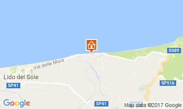 Mappa Rodi Garganico Casa 110434
