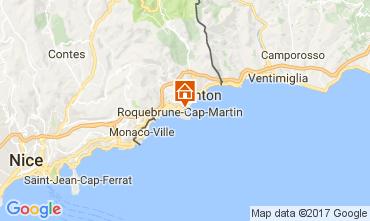 Mappa Roquebrune Cap Martin Appartamento 110242