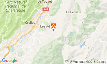 Mappa Les Sept Laux Monolocale 113096