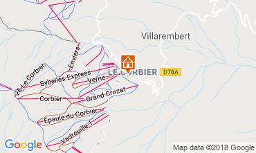 Mappa Le Corbier Appartamento 117022