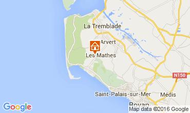 Mappa La Palmyre Casa mobile 99916
