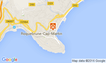 Mappa Roquebrune Cap Martin Appartamento 104967