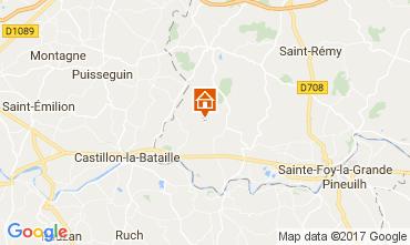 Mappa Bergerac Agriturismo 111984