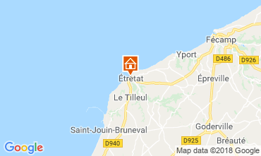 Mappa Etretat Casa 7731