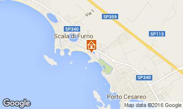 Mappa Porto Cesareo Appartamento 97328
