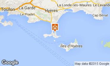 Mappa Hyères Appartamento 79826
