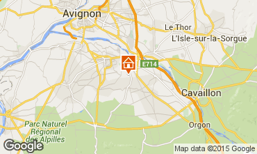 Mappa Saint Rémy de Provence Casa 84879