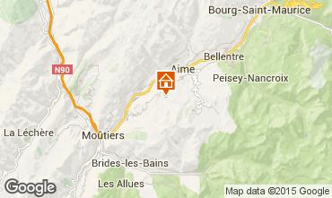 Mappa La Plagne Chalet 51041