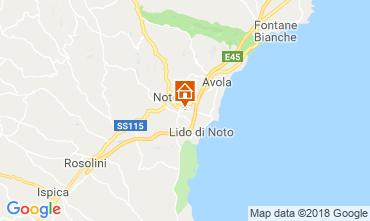 Mappa Noto Villa  117251