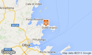 Mappa Golfo Aranci Appartamento 83851