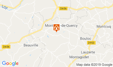 Mappa Lauzerte Casa 119124