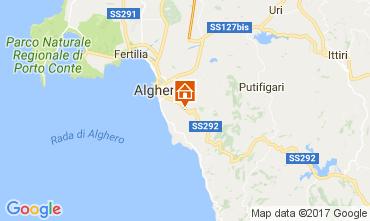 Mappa Alghero Villa  65699