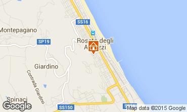 Mappa Roseto degli Abruzzi Appartamento 98649