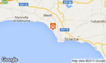 Mappa Sciacca Bungalow 32808