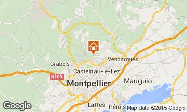 Mappa Montpellier Villa  9206