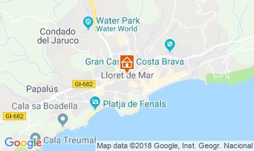 Mappa Empuriabrava Appartamento 110129