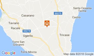 Mappa Specchia Villa  113782