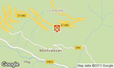 Mappa La Rosière 1850 Appartamento 82857