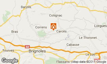 Mappa Cotignac Villa  94695