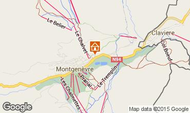 Mappa Monginevro Appartamento 45145
