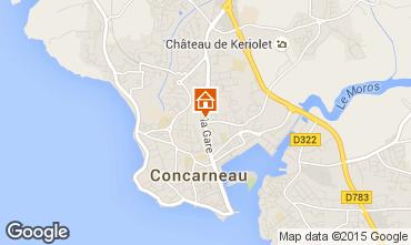 Mappa Concarneau Appartamento 54537