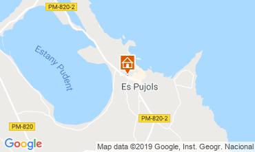 Mappa Es Pujols Appartamento 75247
