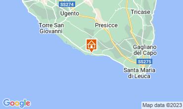 Mappa Pescoluse Casa 73207