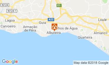 Mappa Albufeira Appartamento 116305