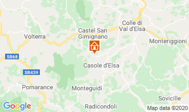 Mappa Casole d'Elsa Appartamento 94340