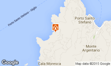 Mappa Monte Argentario Villa  99000