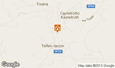 Mappa Castelrotto - Kastelruth Appartamento 49857