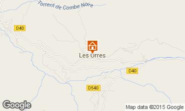 Mappa Les Orres Appartamento 26650